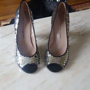 Marc Jacobs Silver Heels